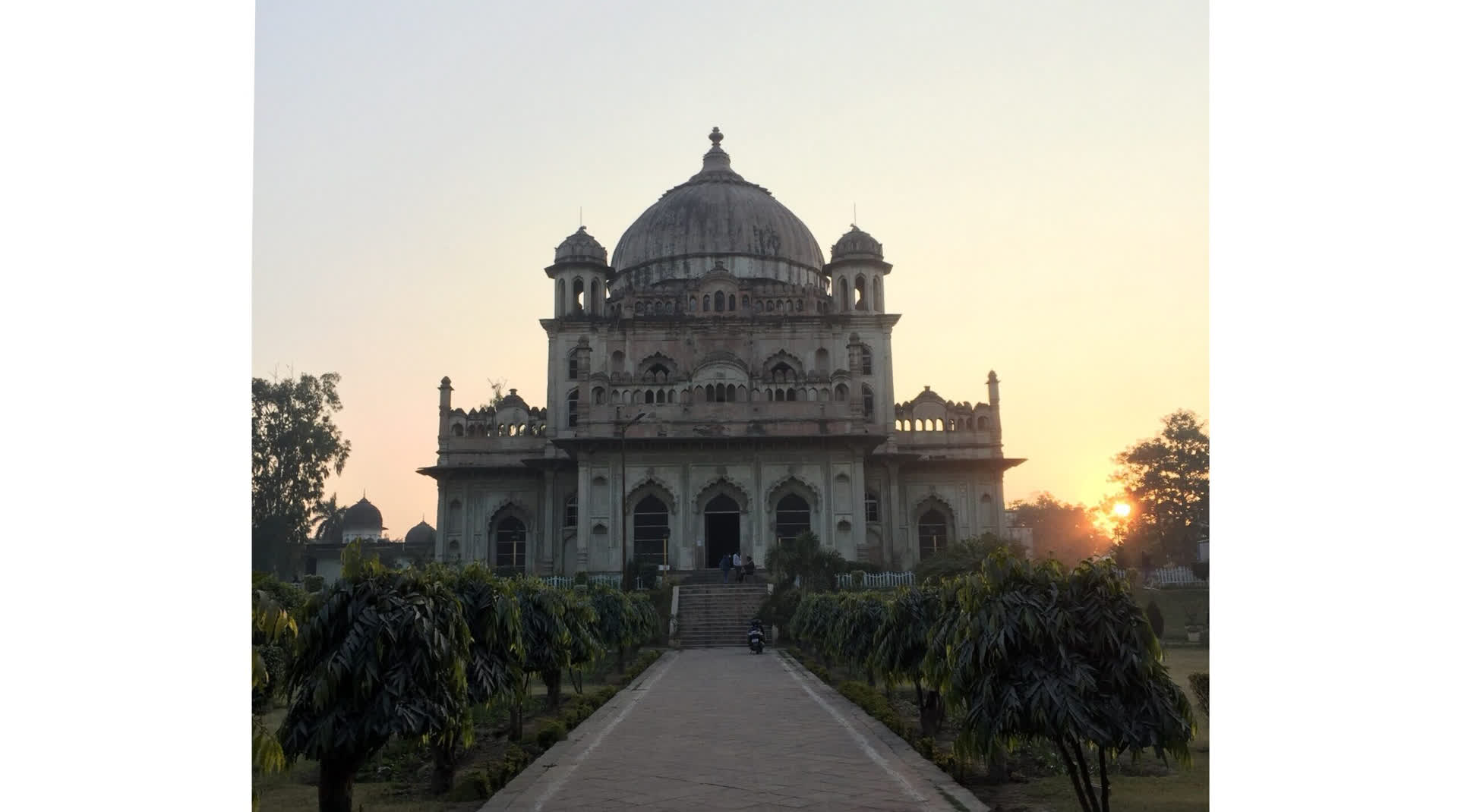 Lucknow's Twin Tombs