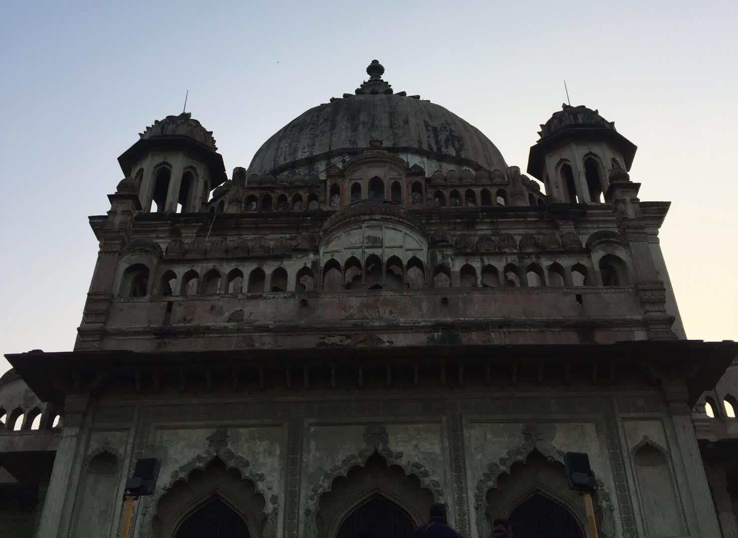 The dome of Saadat Ali's Tomb
