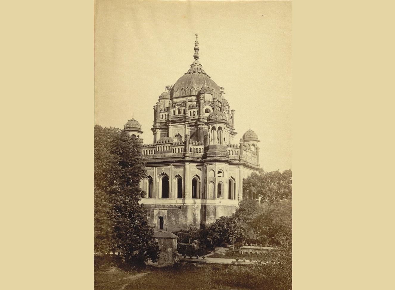 Khursheed Zadi's Tomb, Daroga Abbas Ali, 1874 | British Library