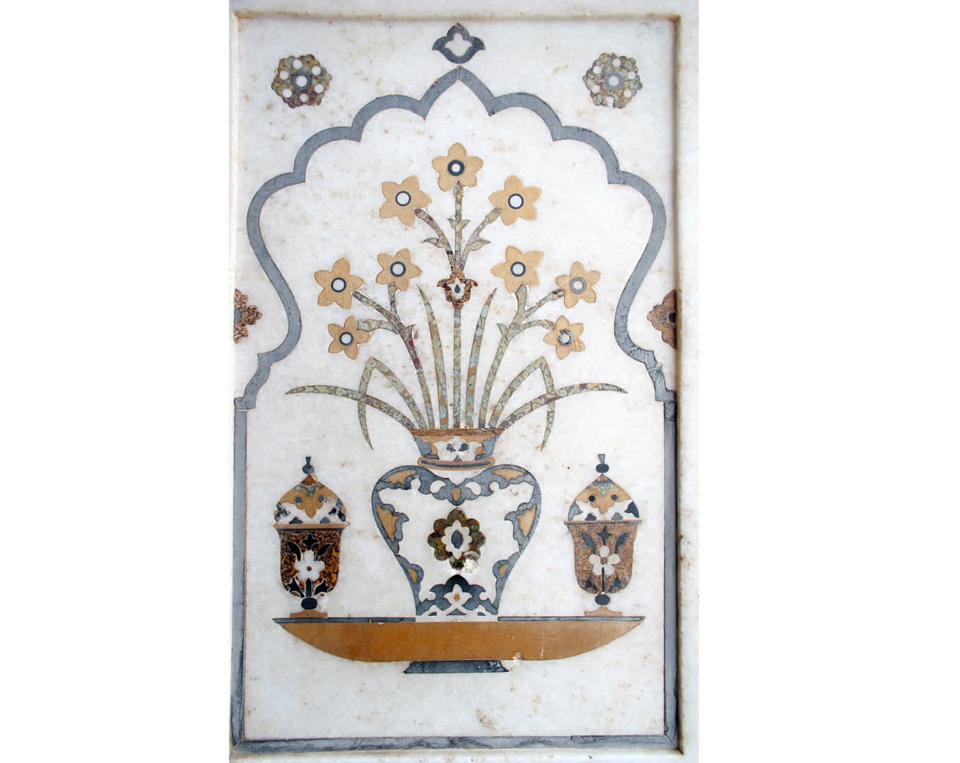 Motif detail from the tomb of Itmad-ud-Daula