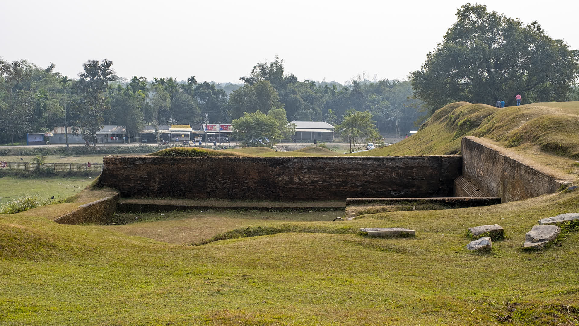 Walls of the Rajpat Fort