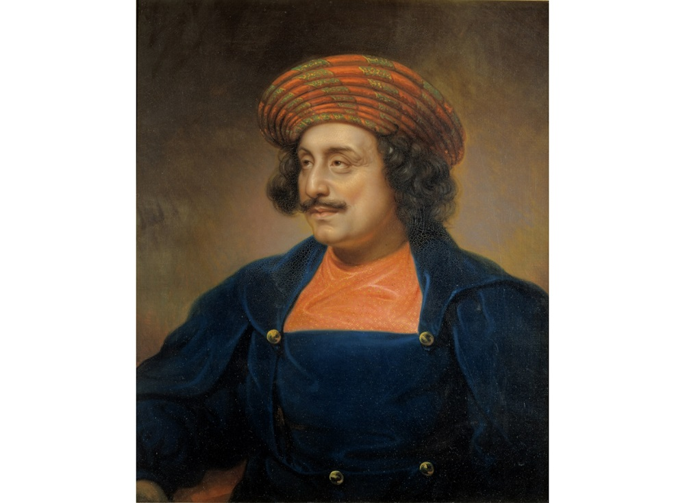 Roy in London, 1833, painted by Rembrandt Peale