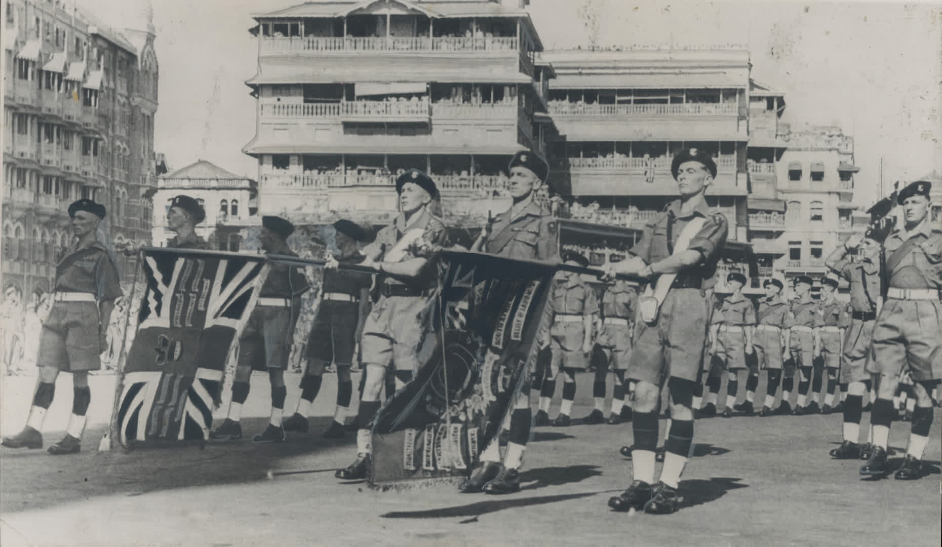 Feb 1948: The British March Out of India