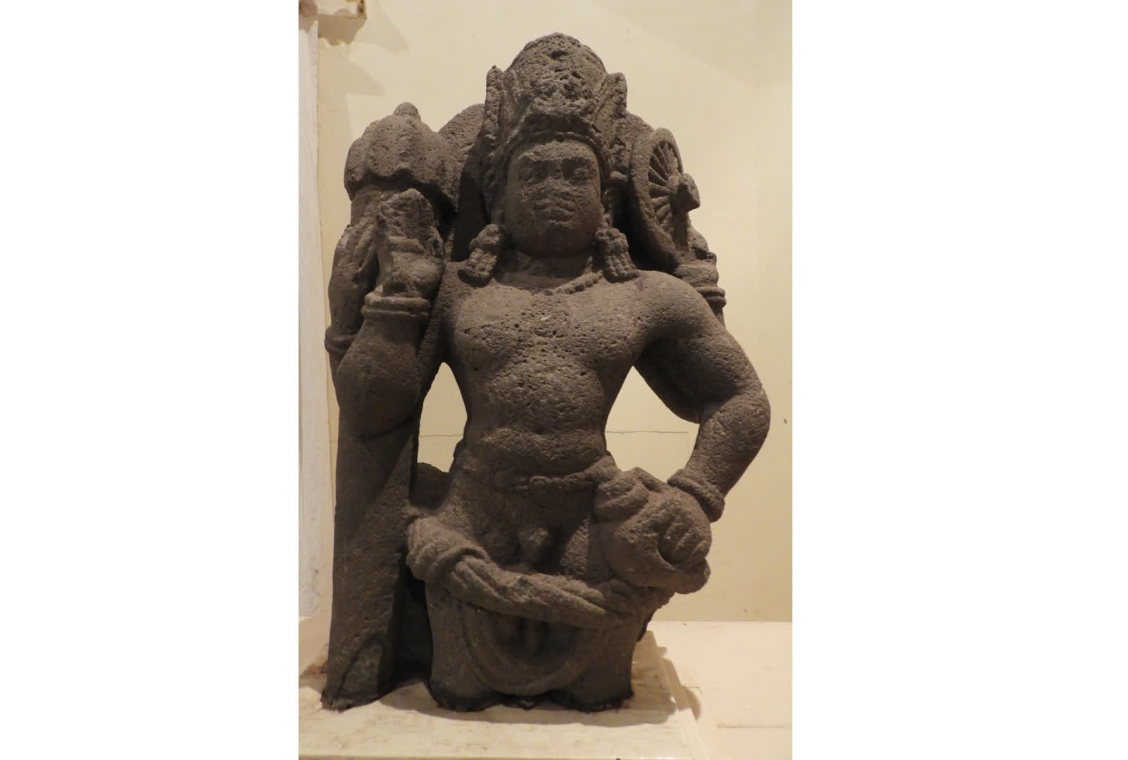 Sculpture of Vishnu | Directorate of Archaeology and Museums, Govt of Maharashtra