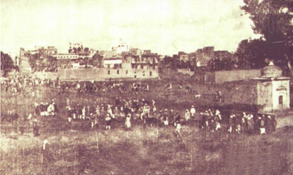 Jallianwala Bagh after the massacre