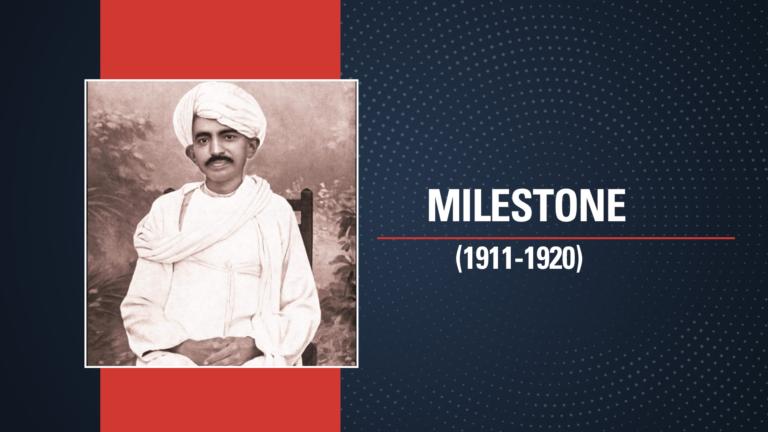 1915: Gandhi's Return to India