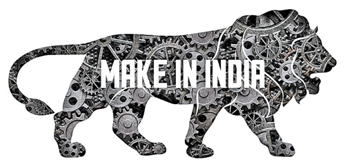 Logo of BJP government's Make in India initiative