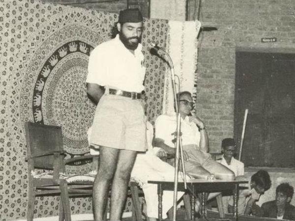 Narendra Modi as an RSS cadet