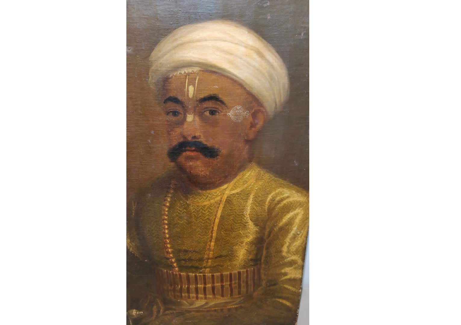 Mahadji Shinde | Directorate of Archaeology and Museums, Govt of Maharashtra