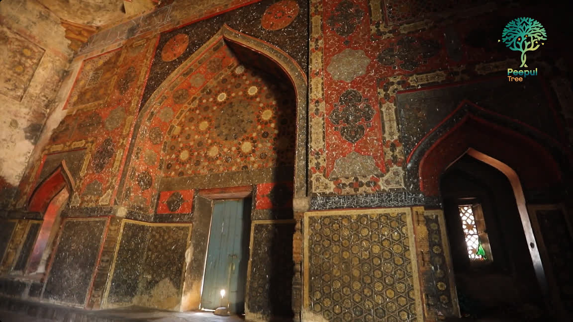 The interiors of the tomb of Sultan Ahmad Wali Shah | LHI