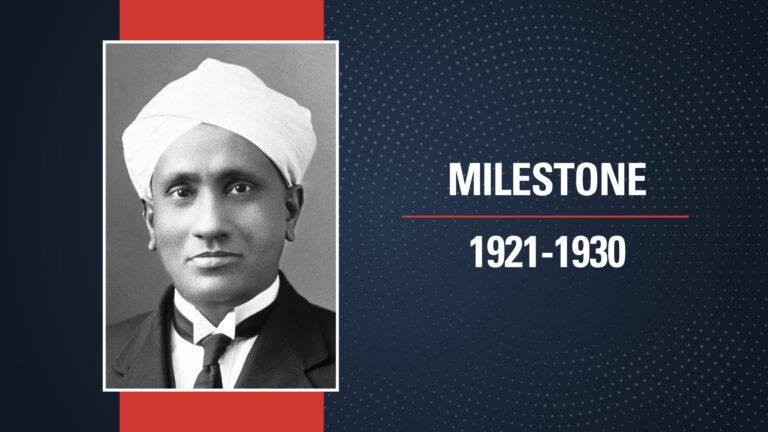 A Nobel for Raman