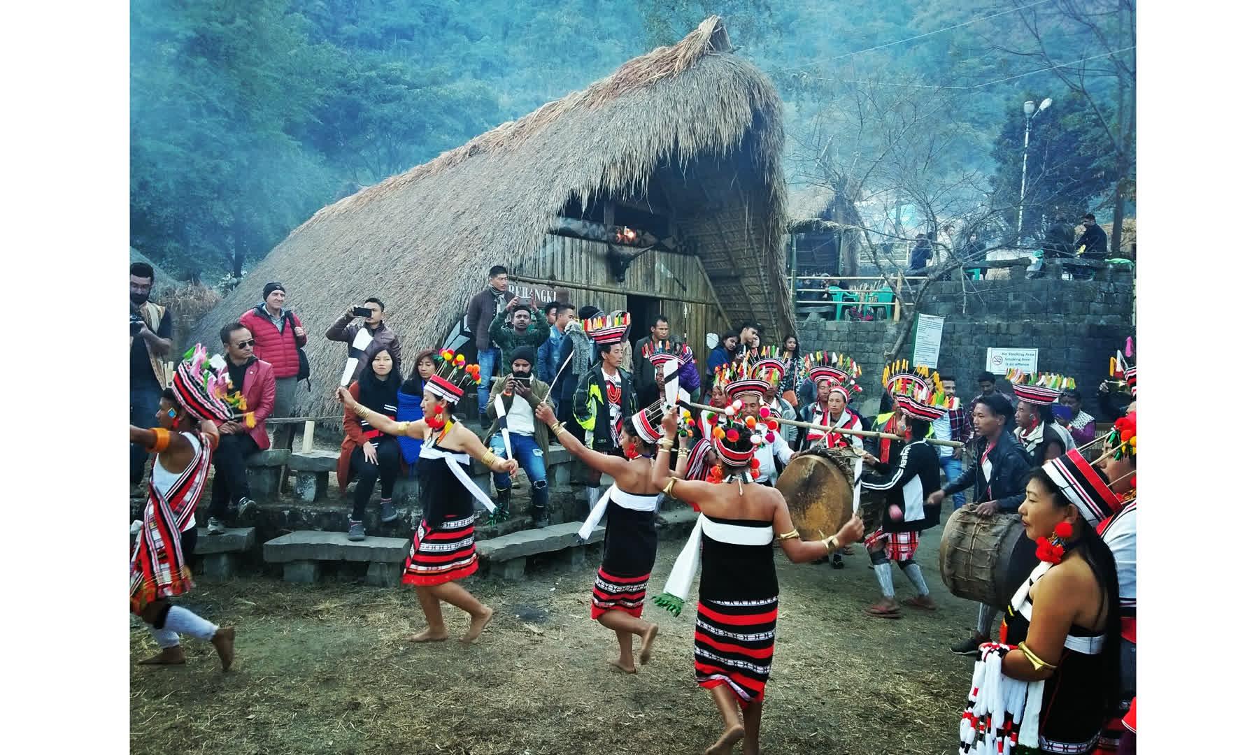 The tribal Hornbill festival of Nagaland