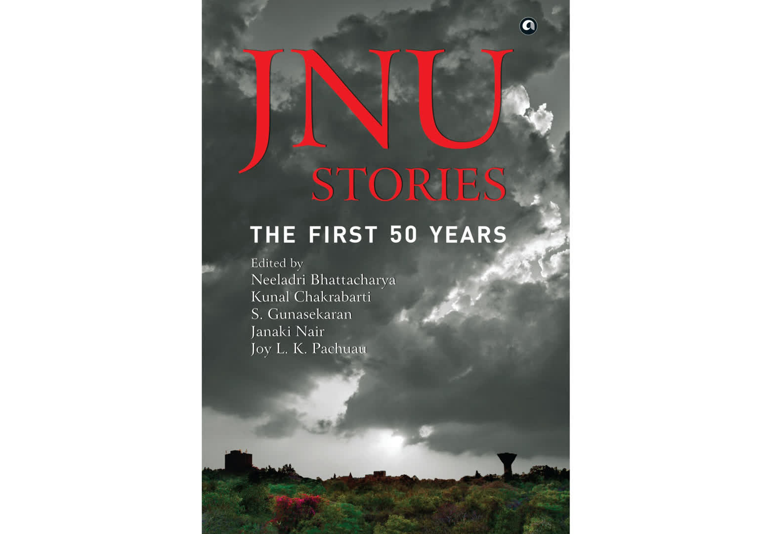 Cover of the book 'JNU Stories: The First 50 Years'
