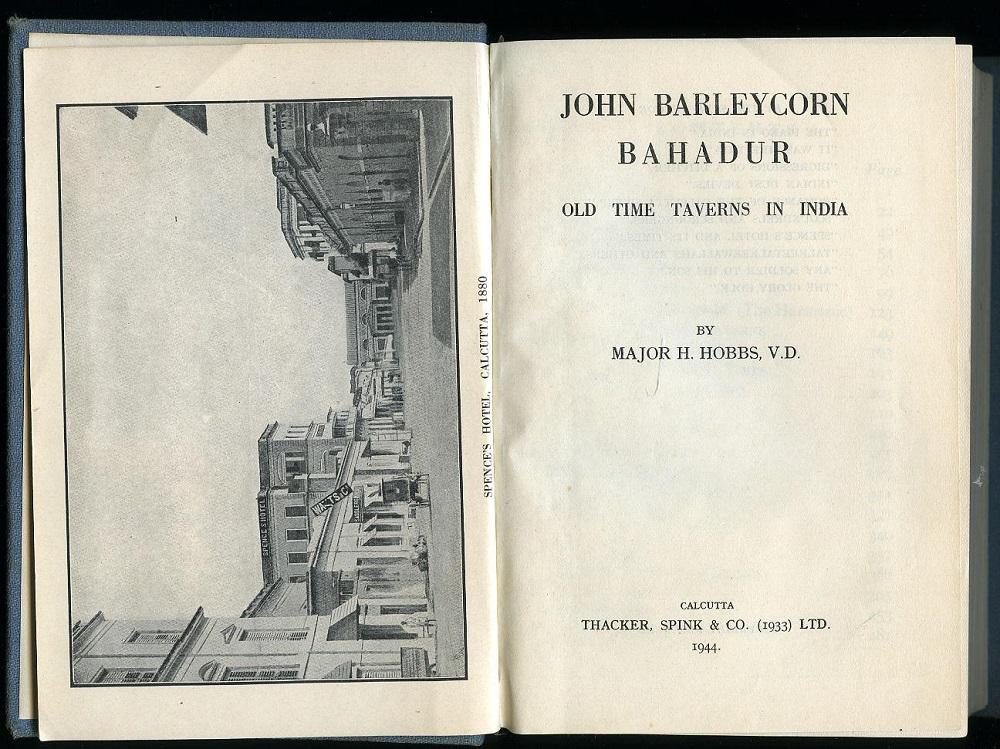 John Barleycorn Bahadur by Harry Hobbs