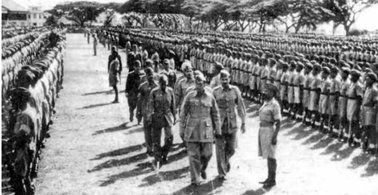 Netaji Subhas Chandra Bose and the INA men
