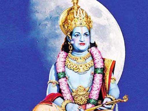 NTR as Lord Krishna