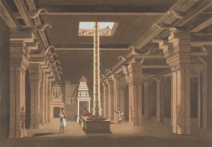 Pudu Mandapa at the temple | British Library