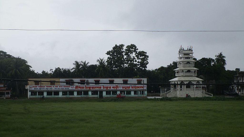 Thakurnagar Matua Mahasangha Thakurbari   Anup Sadi