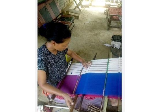 Loin Loom Weaving