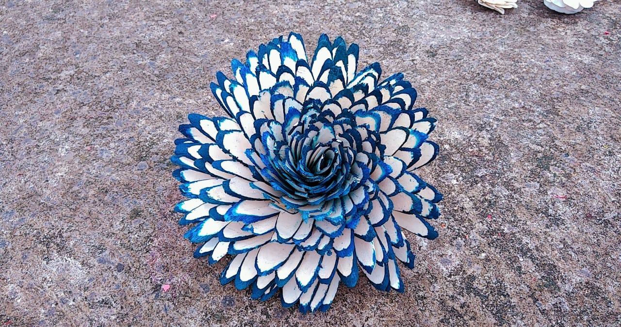 A decorative Shola flower