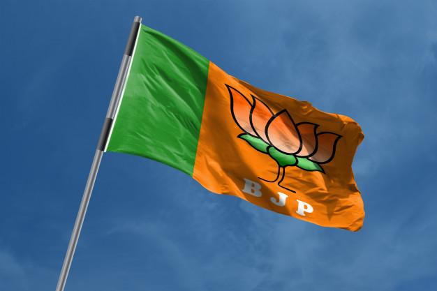 The BJP flag
