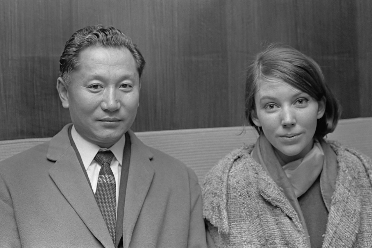 King and Queen of Sikkim, 1966