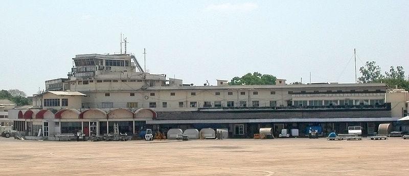 The old terminal at the Meenambakkam airport