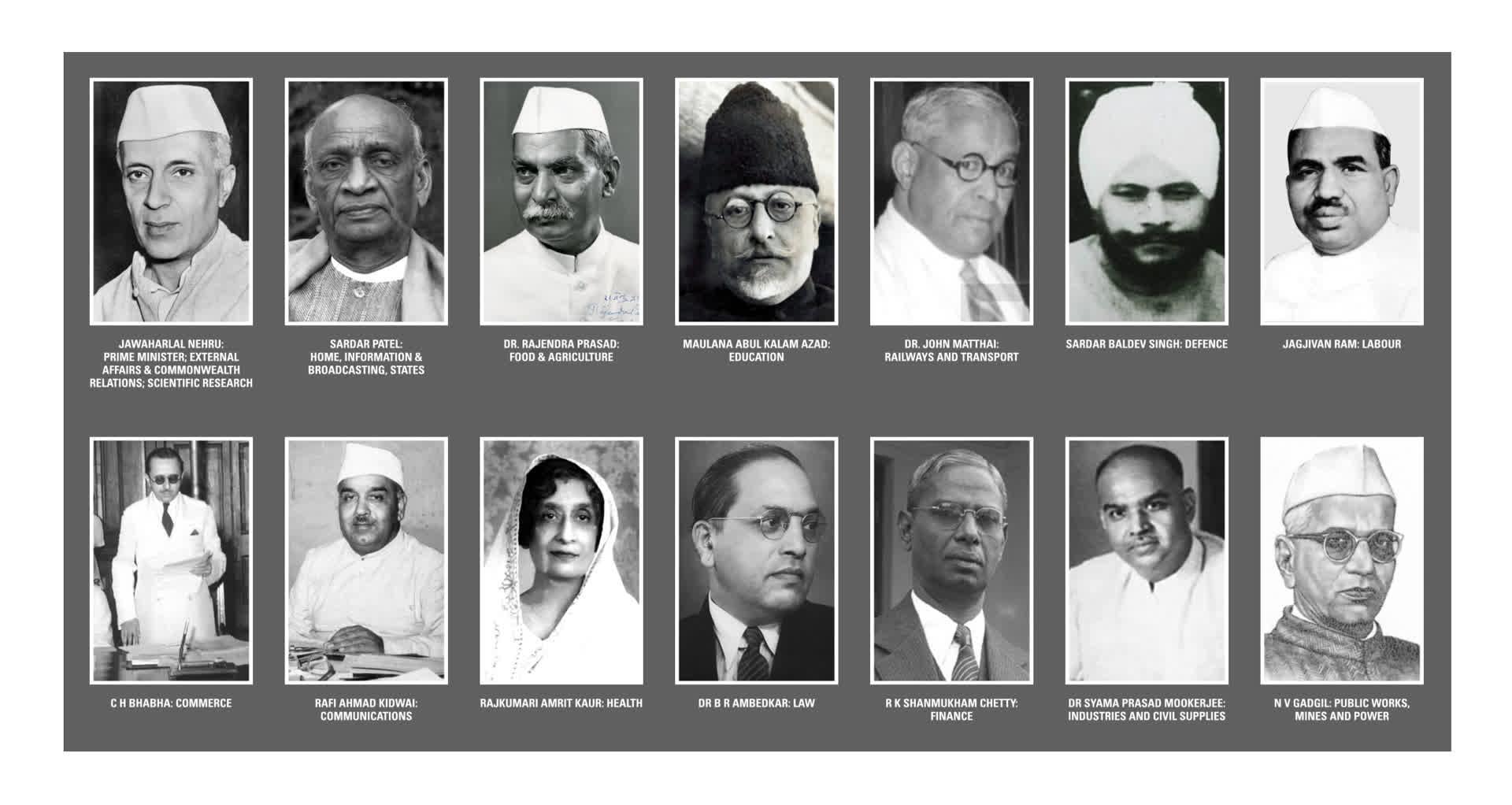 Nehru's First Cabinet: An Ideal that Failed