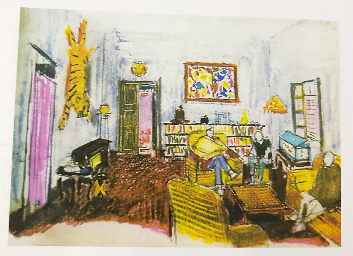 "Use of impressionism in the painting to design the movie set ""Sonar Kella"" | Rong Tulir Satyajit (Debasis Deb)"