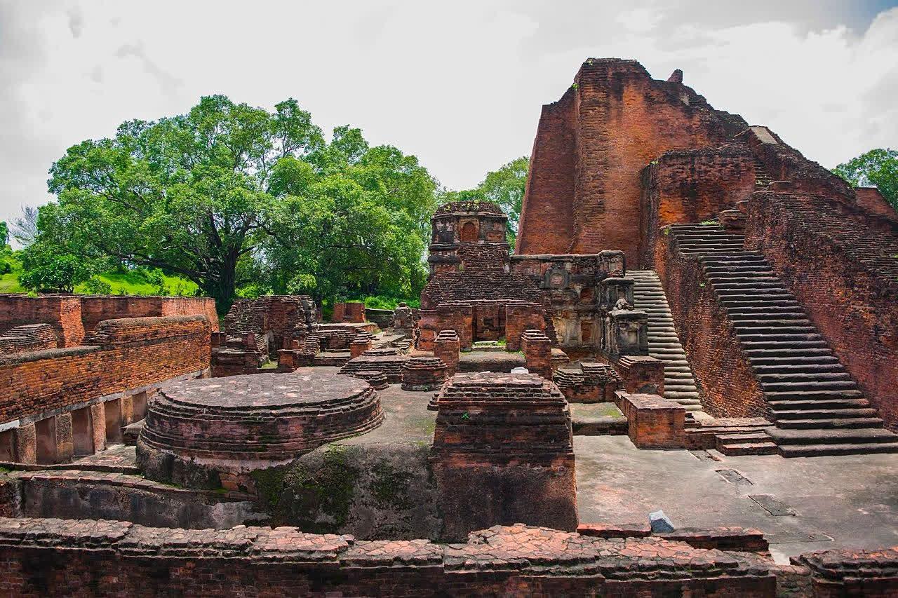 The remains of Nalanda