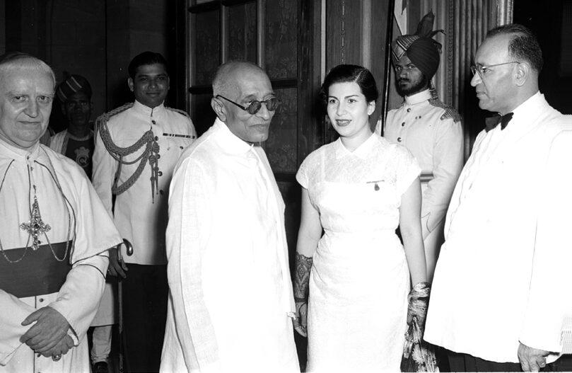 C. Rajagopalachari with Vatican and Iraqi ambassadors