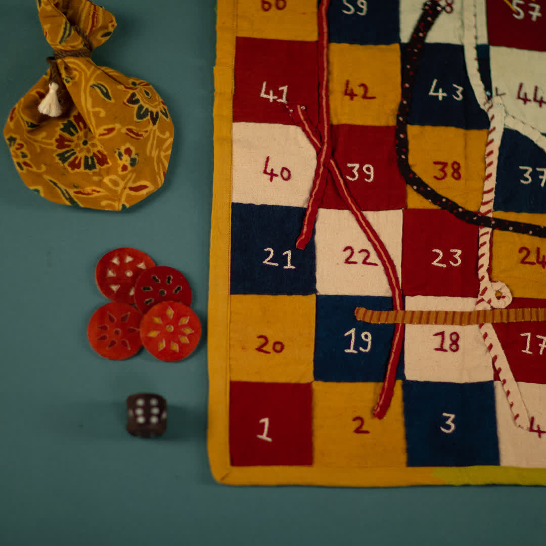 Details of the Snakes and Ladders set   Peepul Tree