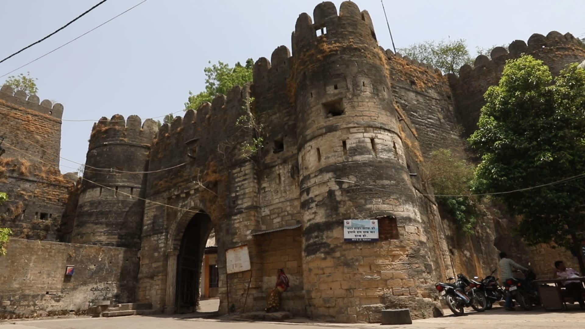 Uparkot Fort, Junagadh