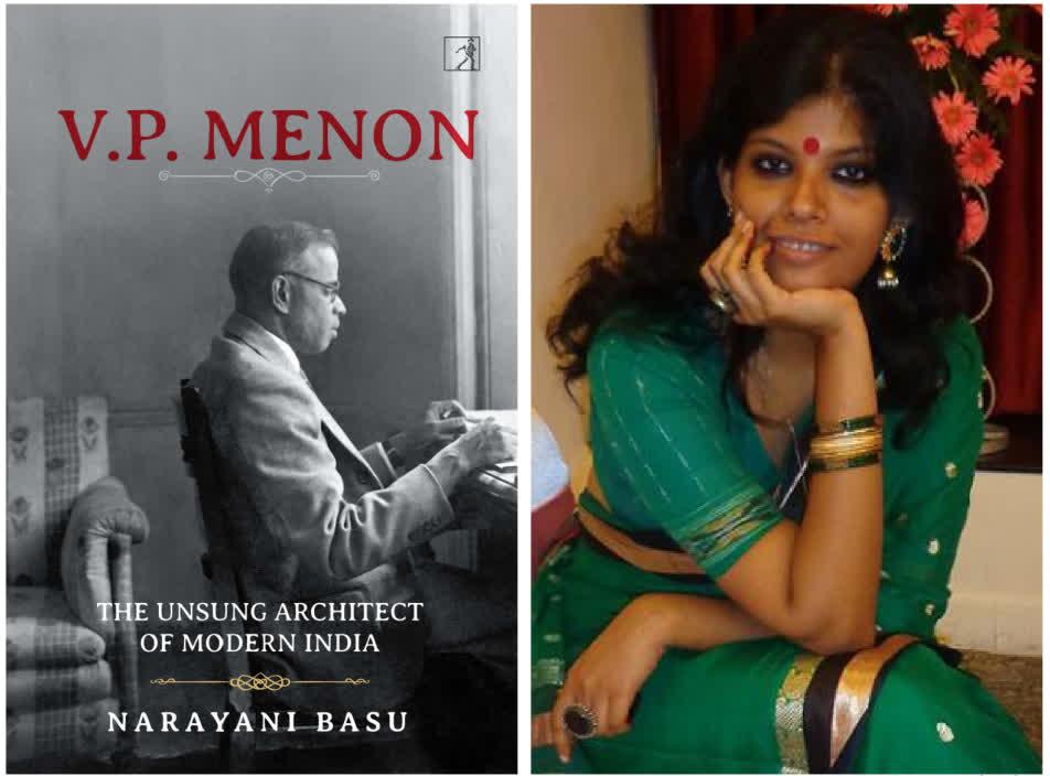Book Cover and author Narayani Basu