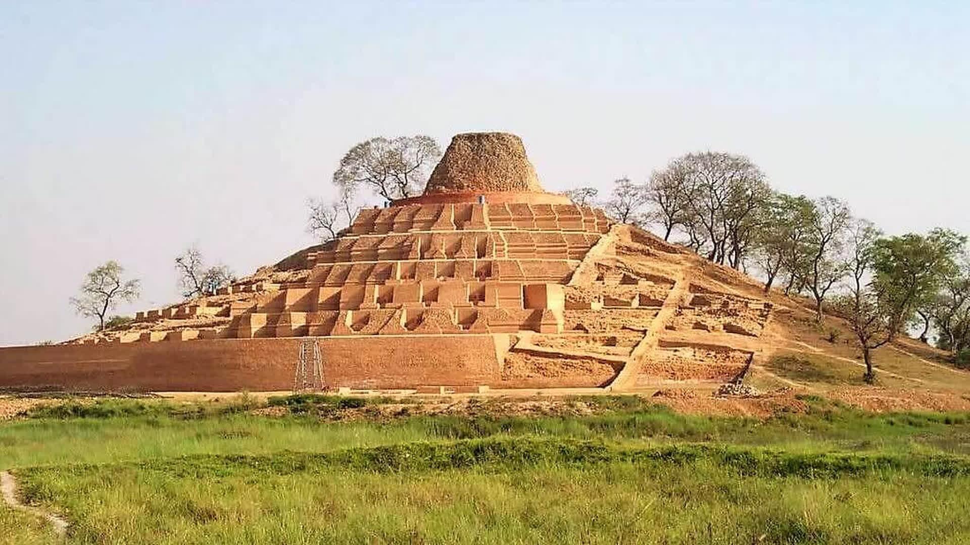Kesariya Stupa: Unravelling A Monumental Mystery