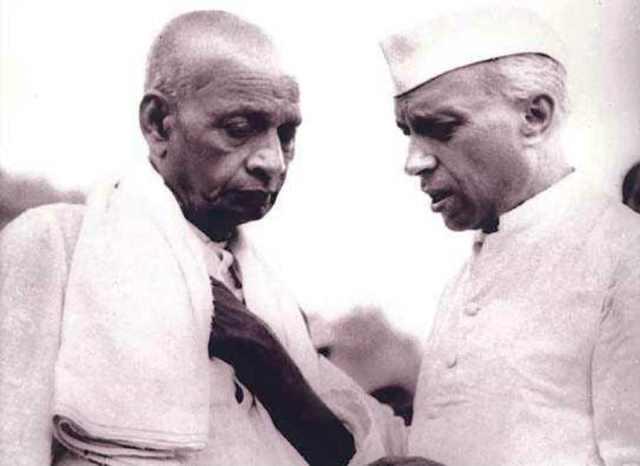 Sardar Patel and Pandit Nehru