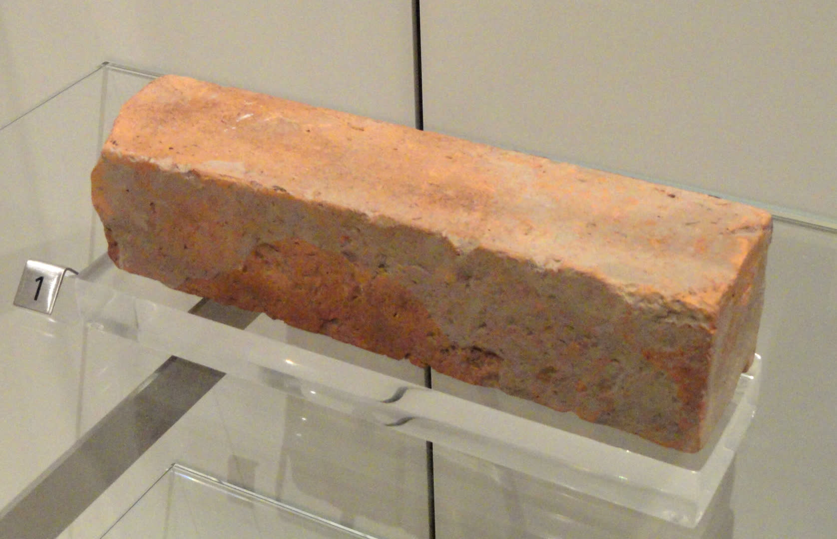 Harappan Phase Cut brick c. 2500 – 1900 BCE, Chanhudaro