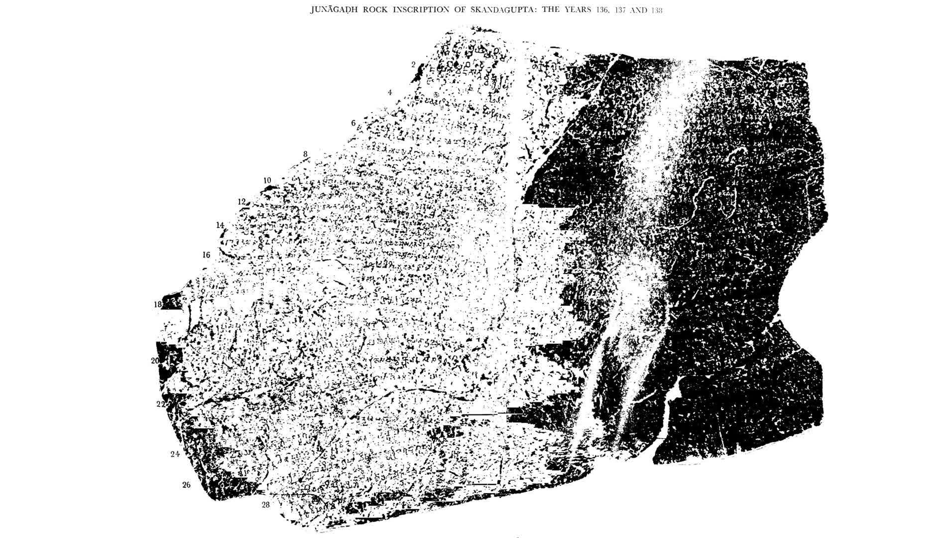 Skandagupta's Inscription