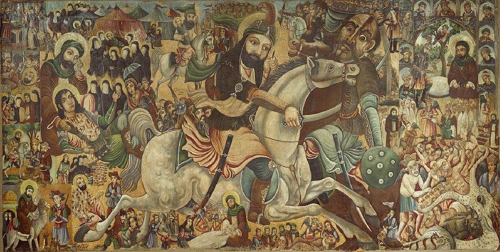 Battle of Karbala   Brooklyn Museum