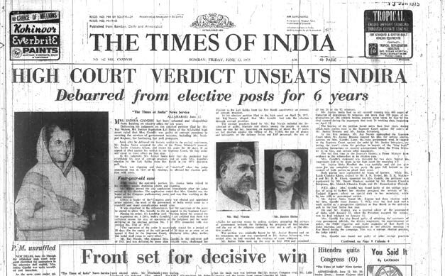 A newspaper report on the case