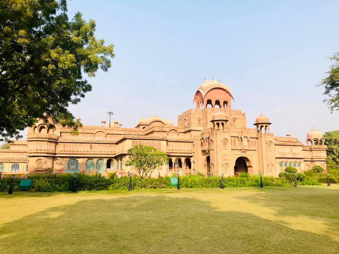 Exterior of Laxmi Niwas, Bikaner