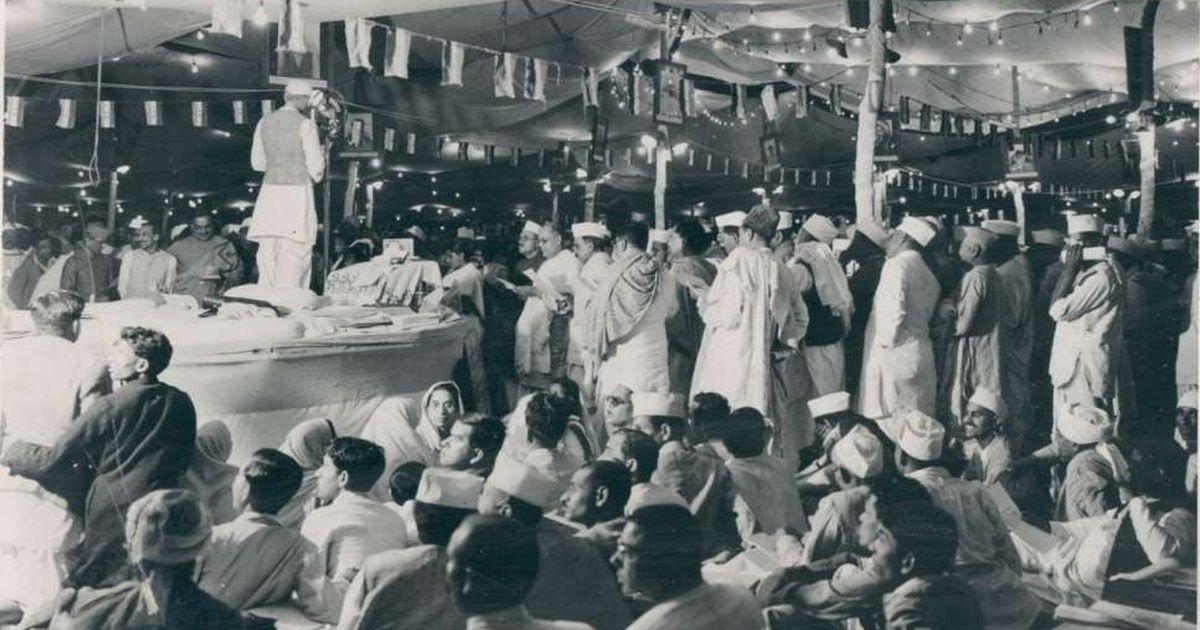 Passing of the Purna Swaraj Resolution