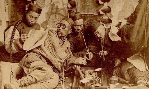 Chinese opium addicts