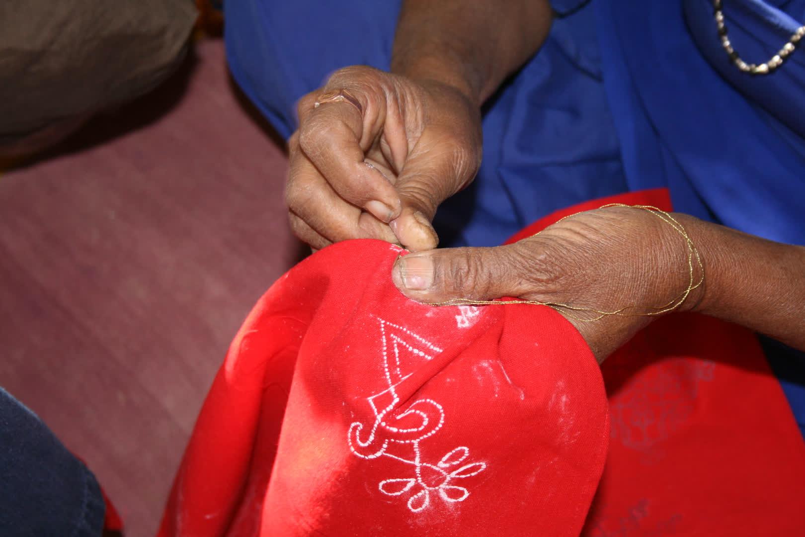 The Embroidery Process   Qasab