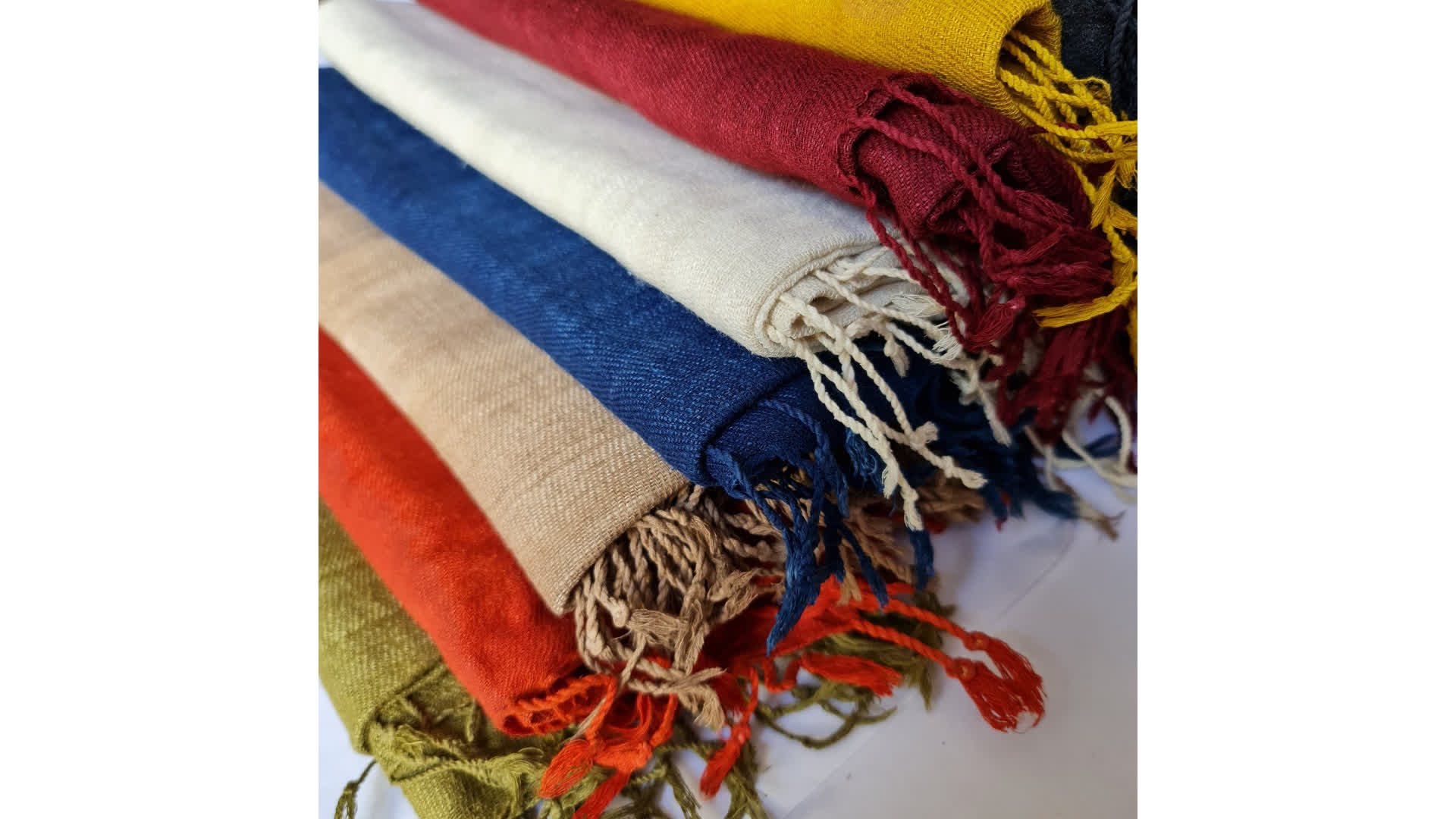 Stoles made from Eri Silk   Peepul Tree