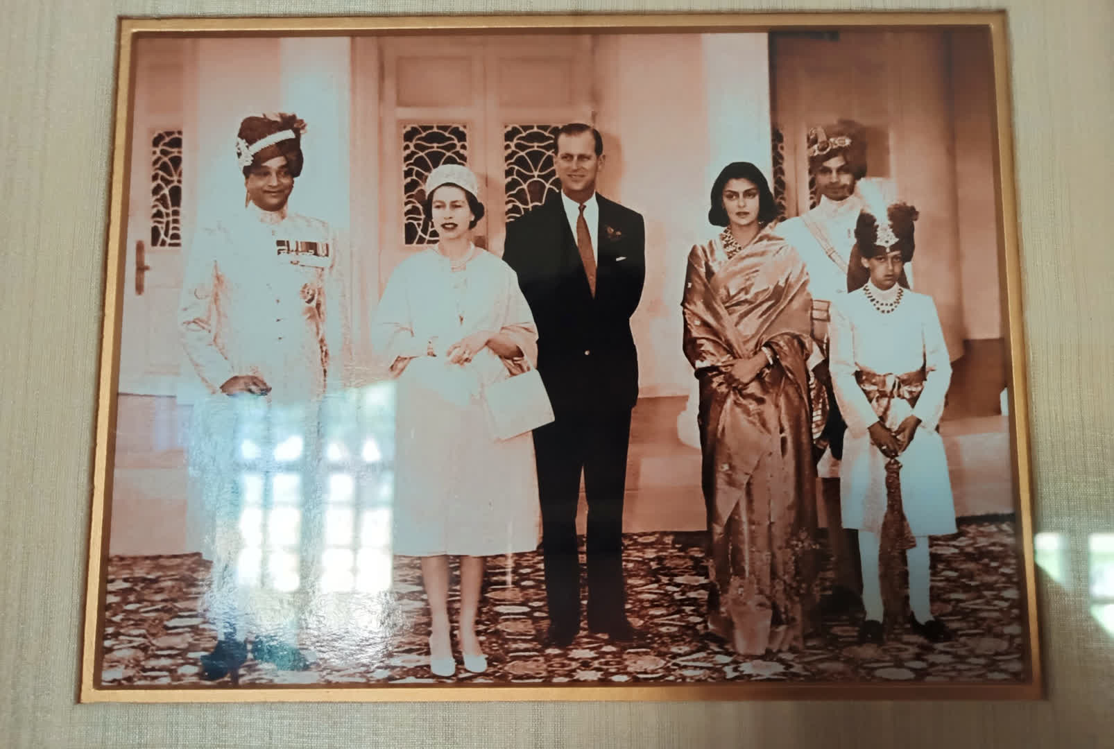 Prince Philip and Queen Elizabeth II at Ramgarh