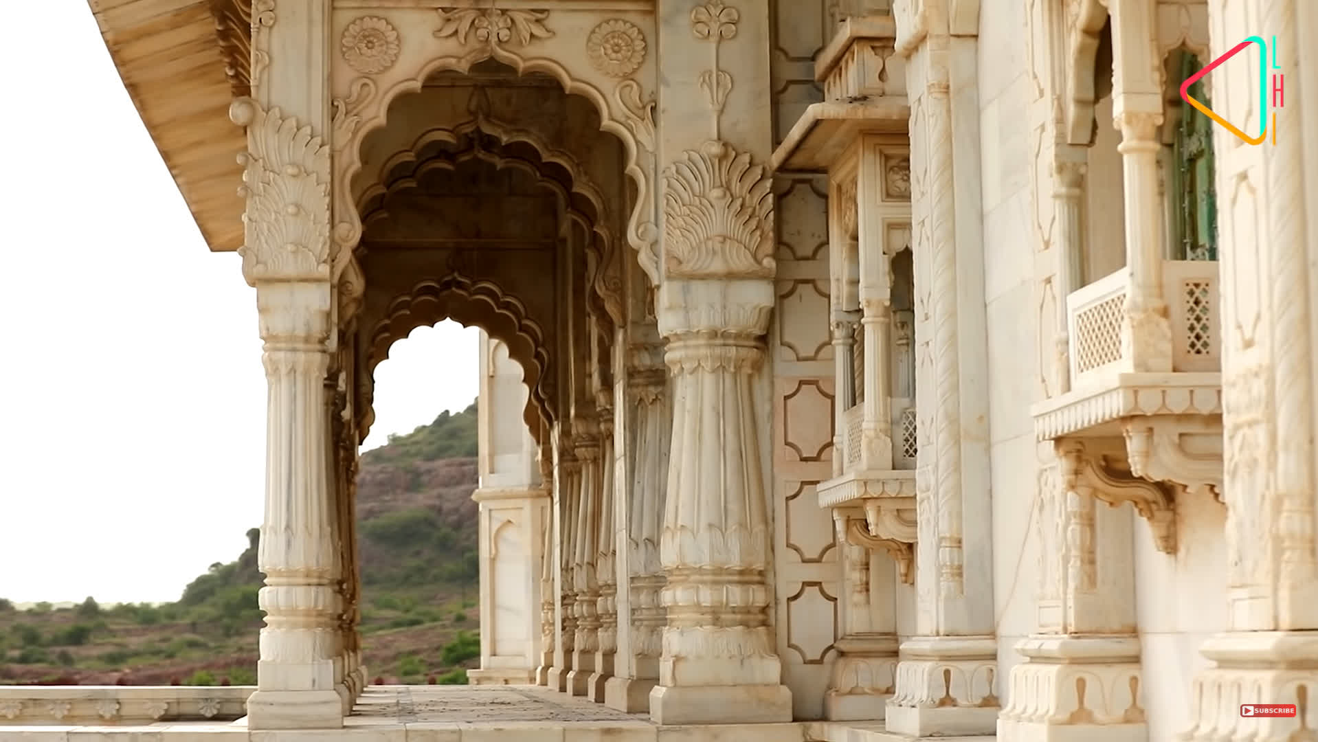 A view of Jaswant Thada   LHI