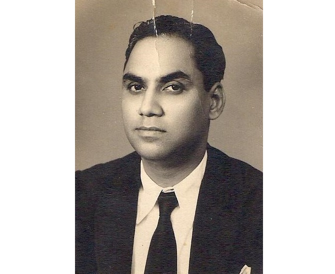 A young Justice Jagmohan Lal Sinha of the Allahabad: High Court, whose 12th June 1975 verdict declared Indira Gandhi's 1971 election void