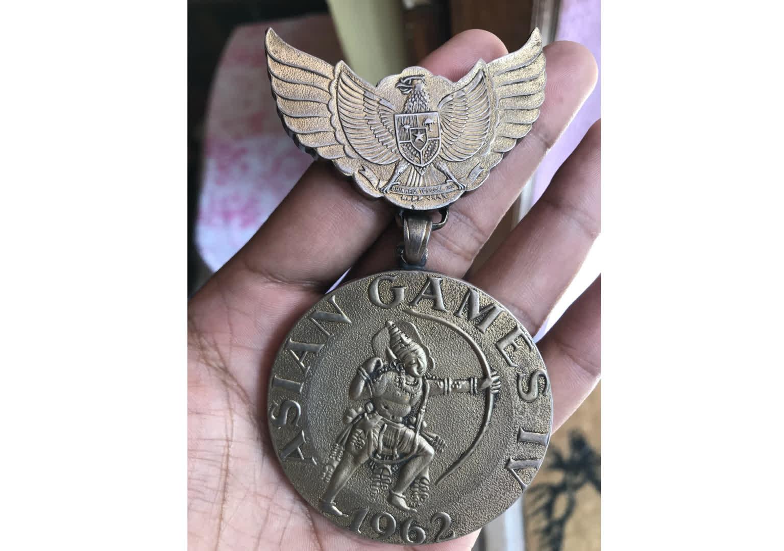 1962 Asian Games Medal