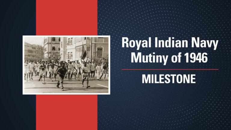 Royal Indian Navy Mutiny of 1946